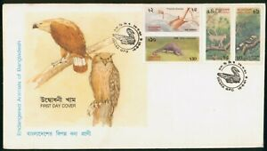 MayfairStamps Bangladesh 1991 Endangered Animals Fauna First Day Cover wwo7937