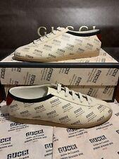 NEW Gucci Falacer Sneakers Maison De L'Amour Mens US Size 9