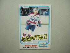 1981/82 O-PEE-CHEE NHL HOCKEY CARD #347 MIKE GARTNER NM SHARP!! 81/82 OPC