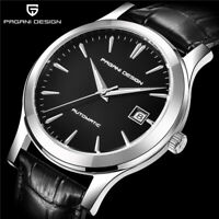 PAGANI DESIGN Classic Men Mechanical Watches Luxury Brand Leather Auto Watch