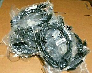 Lot of 10 Super Speed USB 3.0 Printer/Scanner Cable Type A Male to B Male 6'