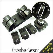 Außenspiegel Scheinwerferschalter Fensterheberschalter Schalter für VW Passat