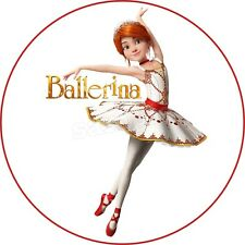Tortenaufleger Geburtstag Tortenbild Zuckerbild Oblate Ballerina Movie 05