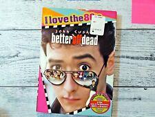 New listing Better Off Dead Dvd (1985) John Cusack 80's Comedy + Bonus Cd - Brand New/Sealed