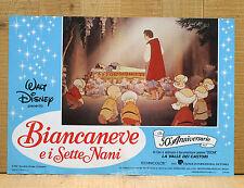 BIANCANEVE E I SETTE NANI fotobusta poster affiche Walt Disney Seven Dwarfs AM33