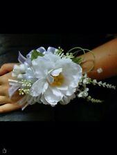 Wedding homecoming Prom Silk Flower Wrist Corsage