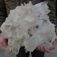 39.6LB AAAAA+++ NATURAL tibetan Quartz Crystal Cluster AWESOME FORM