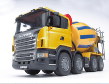 Cement Concrete Mixer TRUCK SCANIA R-series Bruder Toy Car Model 1/16 1:16