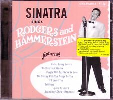FRANK SINATRA Sings Rodgers Hammertein CD Classic 50s Pop Great Broadway Hits
