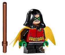LEGO SUPER HEROES DC COMICS - MINIFIGURA ROBIN 76056 - ORIGINAL MINIFIGURE