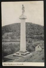 Henry Clay Monument Pottsville Pa 1908