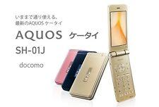 DOCOMO SHARP SH-01J AQUOS KEITAI 2 ANDROID FLIP PHONE UNLOCKED NEW SH-06G 601SH