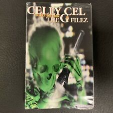 SEALED Celly Cel The G Filez PROMO CASSETTE Tape Bay Area Gangsta Rap Hip Hop