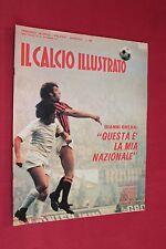 Rivista Sportiva IL CALCIO ILLUSTRATO Anno 1972 Numero 28