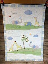 Pottery Barn Kids Nursery & Crib Set: Fitted Sheet, Blanket, Skirt, 2 Panels.