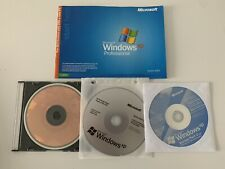 More details for microsoft xp professional original discs with key and manual + service packs 1+2