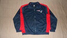 New England Patriots Blue NFL Men's Size XL NFL Football Track Jacket