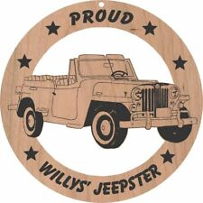 car \u0026 truck repair manuals \u0026 literature for willys ebaywillys jeepster wood ornament engraved