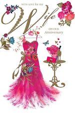 Aniversario Esposa Tarjeta - Amor para Mi en Nuestro - Pozo de los Deseos (C78)