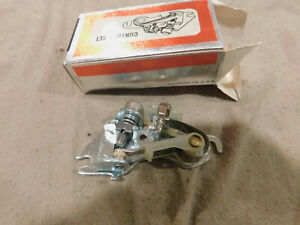 NEW 1957 - 1974 CHEVROLET DISTRIBUTOR CONTACT POINT SET D106PS 273 283 305 350