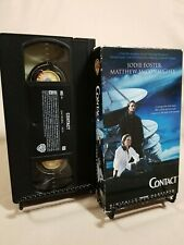 Contact VHS Tape: Matthew Mcconaughey, Jodie Foster