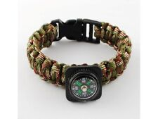 Armband Paracord mit Kompass, tarn