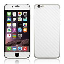 Vinyl Decal Skin For iPhone 6/6S Carbon Fibre Style Sticker Front & Back Panel