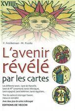 Livre  L'Avenir Révélé par les Cartes Editions de Vecchi