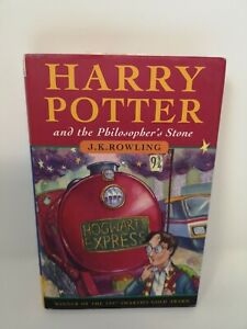 Harry Potter and the Philosopher's Stone 15th Print Hard Back Edition 1997