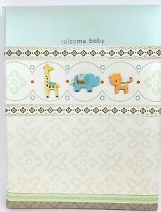 CARTER'S Baby's First 5 Years Memory Book 2010/2012 B2-8732 Welcome A Baby NEW
