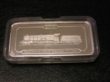 SOLID SILVER INGOT of the COLLETT'S KING GEORGE V 1927 RAILWAY ENGINE