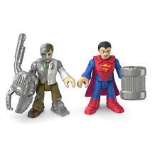 NEW DC Super Friends Batman Imaginext Comic Action Figure Superman & Metallo