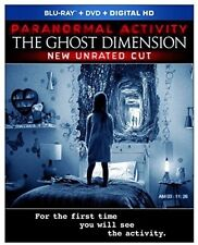 Paranormal Activity: The Ghost Dimension - 2 DISC S (2016, REGION A Blu-ray New)