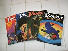 SHADOW PULP DOUBLE REPRINTS: #17, 18, 29, 22.. SANCTUM BOOKS /NOSTALGIA VENTURES