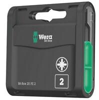 Wera 05057760001 Bit-Box 20 PZ 2 x 25 mm 20-teilig
