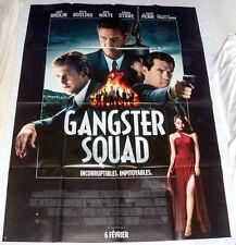 GANGSTER SQUAD Josh Brolin Ryan Gosling Emma Stone Sean Penn LARGE French POSTER