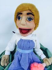 Ventriloquist Vintage ANTRON FLEECE Muppet-Style Maid Cleaning Lady