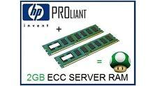 2GB (2x1GB) ECC Memory Ram Upgrade for the HP Proliant ML350 G4 Server Only