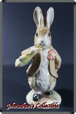 "JC&C - Vintage Royal Albert figurine Bunny ""Benjamin ate lettuce leaf "" - MINT"