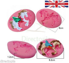 Unicorn Horse Fondant Chocolate Acrylic Resin Silicone Mould Sugarcraft Mold UK
