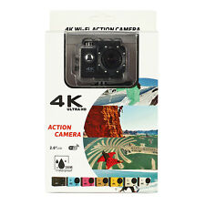 Drift Compass 4K Ultra HD Wifi Sports Action Camera with Full Accessory Bundle