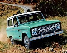 1967 Ford Bronco SUV Truck Factory Photo c3033-L2WJKU