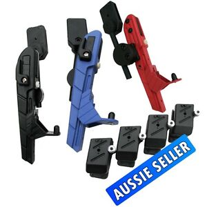 IPSC SEMI AUTOMATIC QUICK SHOOT HOLSTER LEFT & RIGHT HAND WITH  4 MAG POUCHES