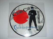 """BOY GEORGE/CULTURE CLUB - Church Of The Poison Mind UK 1983 Virgin 7"""" picture di"""