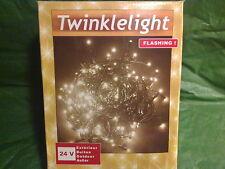 360 LED Lichterkette rot Weihnachten Party Weihnachtskette Außenbereich