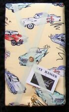 Vintage/Retro Car fabric covered,box framed,Key Hanger/memo board