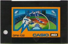 "MSX ROM""EXCITING BASEBALL NESSEN KOUSHIEN""CASIO JAPAN"