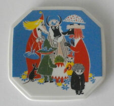 Arabia Finland, Moomin Wall Plate  Who Will Comfort Toffle?  VERY RARE!
