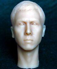 1/6 scale plastic unpainted action figure head sculpt donnie yen ip man enterbay