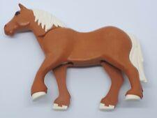 400150 Caballo percherón marrón playmobil,horse